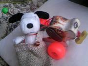 ビーグル犬 サラ&コロン、そしてぐりーん〜♪