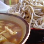 関東名物茨城郷土料理水戸グルメ蕎麦つけけんちんそば