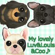 My lovely Luv&Louis&Coo♪