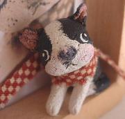 きょうの粘土・・粘土人形制作日記