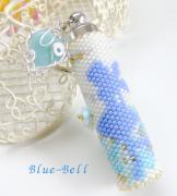 ビーズアクセサリーBlue-Bell