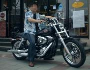 バイクでブンブン♪