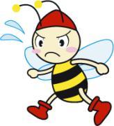 ハチの子ジェルビー君の冒険♪