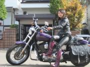 バイクで女一人旅 マグの日本放浪日記