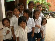 カンボジアでボランティア