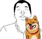 柴犬はなちゃんの写真とイラスト −最新画像−
