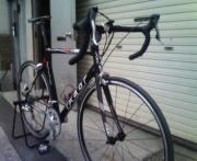 通勤クロスバイク、休日出勤ロードバイク