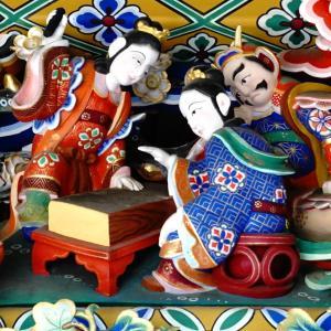 【関東寺社装飾彫刻探訪】バイクで神社巡り♪