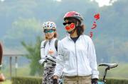 自転車とあたしとSORAの写真