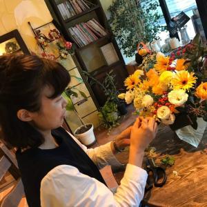 横浜・上大岡 Flower note お花からのLove letter