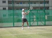 テニスに挑戦♪ なごみ倶楽部