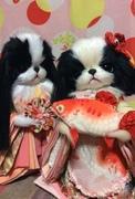 †狆の人形蝶蝶や†Japanese Chin