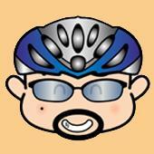 自転車に乗ったイラストレーターIN仙台