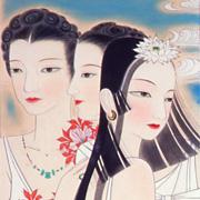 いまあざやかに《日本画家》丸井金猊