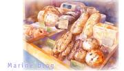 マリの水彩画とグルメ