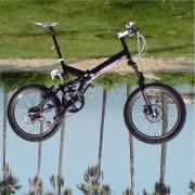 oz. 激安折りたたみ自転車MFWS-206F改