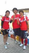 女子ホッケー日本代表埼玉3人娘。