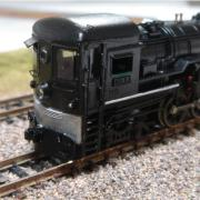 Free-style American N-scale trains
