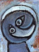 シュールな絵画の抽象画の油絵奮闘記