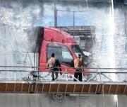 立川市:赤帽フレンズ急便の仕事ぶり