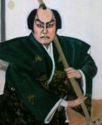 油絵で歌舞伎!
