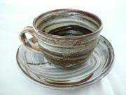 伝統の焼き物 和のコーヒーカップ