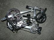 ハンドメイドの自転車と・・・・