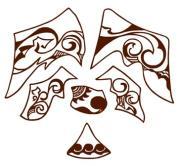 サモアンタトゥーの革小物 『古々椰子工場』