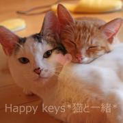 Happy keys *猫と一緒*