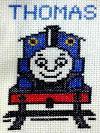 きかんしゃトーマスの刺繍ブログ