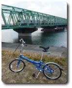 折りたたみ自転車、輪行の旅、ポタリング