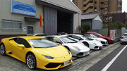 Rosso auto sports
