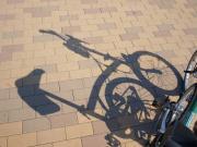 自転車のエンジンが書いた