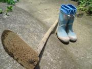 鍬と長靴とワタシ