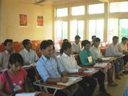 カンボジアで日本語を勉強しています!