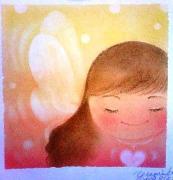 虹色魔法使いパステル和(NAGOMI)アート海ちゃん