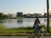 貧脚と自転車