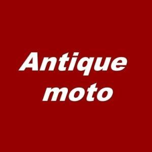 Antique moto