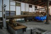 撥ね木搾りの酒蔵「吉田屋」の蔵嫁日記