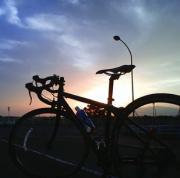 風を感じて、自転車とともに!