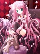 *桜色・海の色*