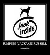 """Jumping """"Jack""""ass Russell"""