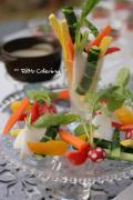 野菜と料理と、季節の装い