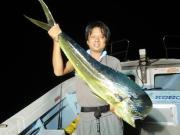 久米島 fishing 修行中