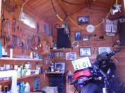 メタボライダーのバイク小屋