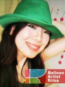 風船で世界中を笑顔にするバルーンアーティストエリサ