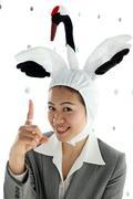 群馬専門 鶴をかぶった販売員 群馬の鶴子ブログ