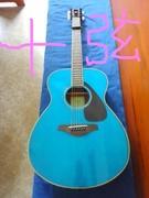 アコースティックギターで讃美歌を・・・
