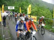 王滝村の自転車レースとマラソンレース