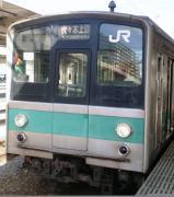 常磐線沿線の鉄道ファン